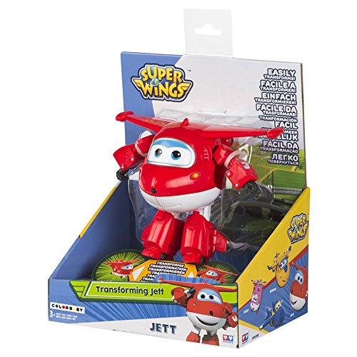 Super Wings - Jett transformables