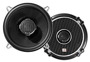 JBL GTO 528 Paire de haut-parleurs auto hifi coaxiaux à 2 voies 13 cm / 135 Watt, 91 dB Noir