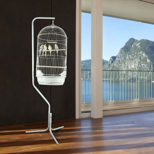 """Princeville Palace Bird Cage - 21""""W x 16""""D x 56""""H - With Stand or Without or Stand Only! 2 Colors Available! 0"""