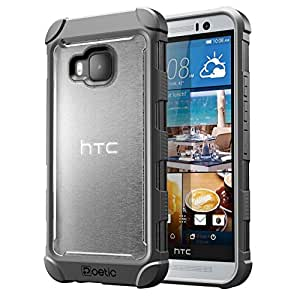 Poetic Affinity Series for HTC One M9 Frost Clear/Gray