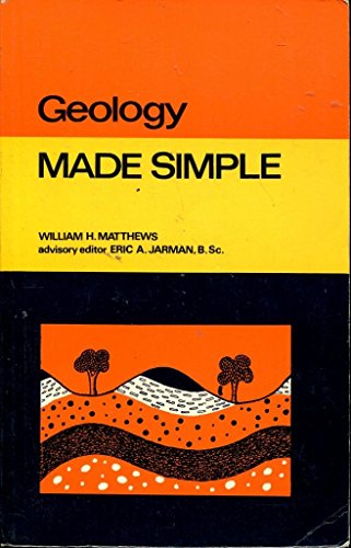 Geology (Made Simple Books), by WILLIAM HENRY MATTHEWS