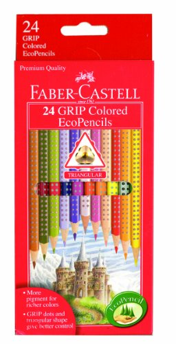 GRIP Colored EcoPencils - 24 ct