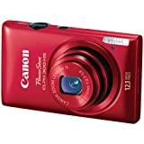 51JCfvvUK%2BL. SL160  Red Canon PowerShot ELPH 300 HS 12.1 MP CMOS Digital Camera