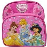 Disney Princess 10 Mini Backpack Featuring Princess Jasmine, Cinderella, and Beauty