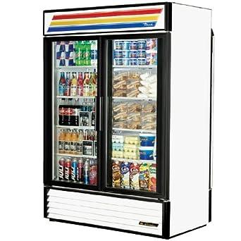 .com: True GDM-49RL-LD-BK Rear Load Black Glass Door Mer: Appliances