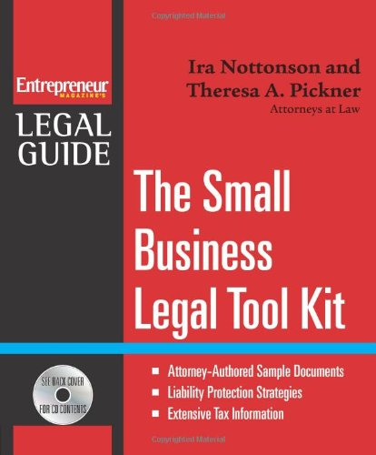 Small Business Legal Tool Kit (Entrepreneur Magazine's Legal Guide)