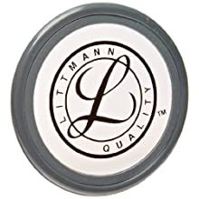 3M Littmann Tunable Diaphragm and Rim Assembly, Grey rim, 36557, (Pack of 5)
