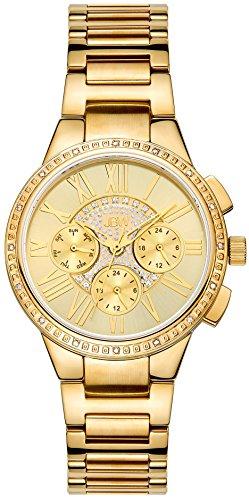 JBW Reloj con movimiento japonés Woman Helena Dorado 38 mm