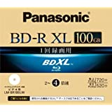 Panasonic Blu-ray Disc - BD-R XL 100GB 4x Speed 1 Pack Printable - Triple Layer (japan import)