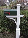 New England Woodworks NEMBP New England Mailbox w. Raised Panel Sleeve