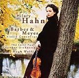 バーバー : ヴァイオリン協奏曲 / エドガー・メイヤー : ヴァイオリン協奏曲