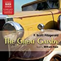 The Great Gatsby Audiobook by F. Scott Fitzgerald Narrated by William Hope