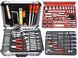 Famex - Maletín de herramientas (juego completo con llaves de vaso de impacto)