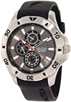Nautica Men's N14609G NST 06 Multifunction Black Resin Strap Watch by Nautica