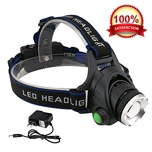 LED Battery Powered Helmet Light