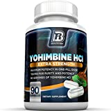 Top Rated Yohimbine HCI - 60 Count 2.5mg Capsules By BRI Nutrition