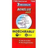 Benelux, indéchirable : 1/400 000