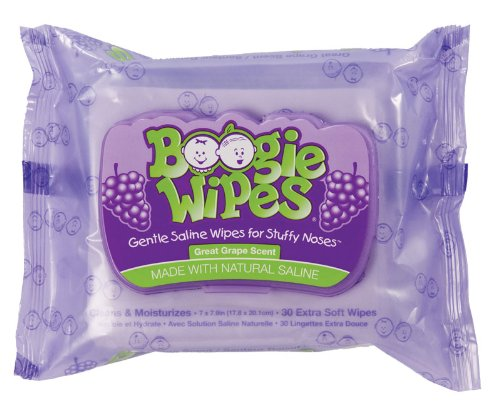 Smart Boogie Wipes Grape Scent Baby Wipes