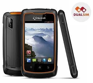 CROSSCALL Wild - Smartphone dual Sim + Carte microSD 16 Go High Speed Class 10 + mini lecteur USB 2.0