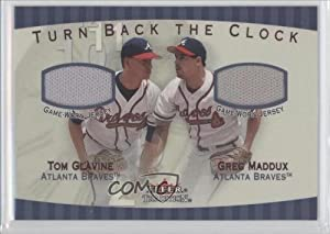 Tom Glavine Greg Maddux Atlanta Braves (Baseball Card) 2001 Fleer Tradition Turn Back... by Fleer+Tradition