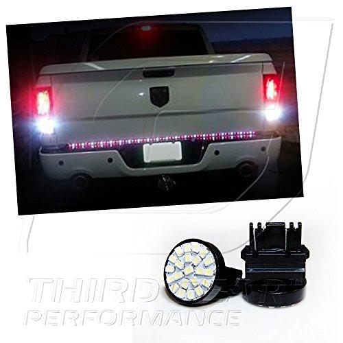 Tgp 3157 White 22 Led Smd Wedge Reverse / Backup Light Bulbs Pair 1998-2009 Mazda B2500 B2300