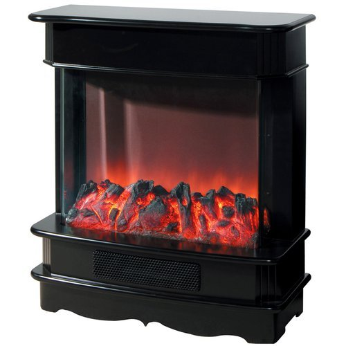 Yosemite Home Decor Df-Efp675 Open Electric Fireplace, Black
