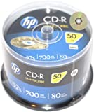 HP Light Scribe CD-R 700MB 52x Speed Surface CD-Rohlinge 50-er spindel