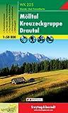 Freytag Berndt Wanderkarten, WK 225, Mölltal - Kreuzeckgruppe - Drautal - Maßstab 1:50 000 (freytag & berndt Wander-Rad-Freizeitkarten)