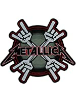 Metallica Metal Horns Official New Cut Out Patch