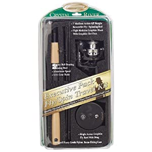 Crystal River Fly and Spinning Combo Travel Kit