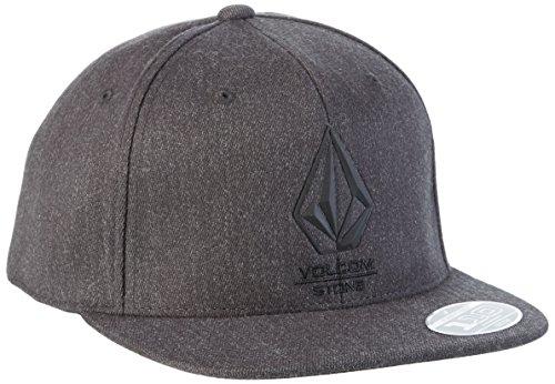 volcom-herren-bevel-110-adj-hat-baseballmutze-sulfur-black-one-size