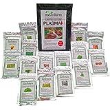 25K+ Organic Seeds Bulk Surplus, Heirloom Variety Pack. Grow Guarantee. 25,000 + Vegetable Seeds, Non GMO, 95% + Germination Rates.