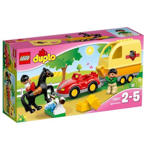 LEGO DUPLO Ville - 10807 - La Remorque À Chevaux