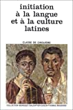 echange, troc René Morisset, Jacques Gason, Auguste Thomas, Edmond Baudiffier - Initiation à la langue et à la culture latines