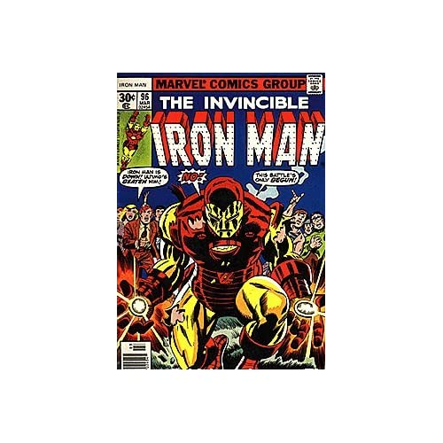 Invincible Iron Man (1968 series) #96 Marvel Books