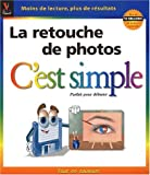 Photo du livre La retouche de photos c'est simple