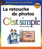 Photo du livre La retouche de photos c'est simple
