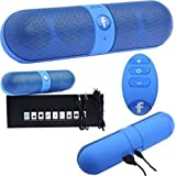 Qwerty Bluetooth Beatz Super Loud Portable Bluetooth Mobile/Tablet Speaker (Blue, 1 Channel Channel)
