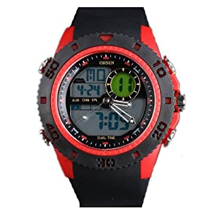Acctim Digital LCD Alarme Radio Controlled Wrist Watch ...