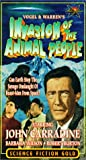 Invasion of the Animal People [VHS]