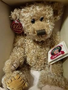 """Teddy's Teddy 100th Anniversary Limited Edition 11"""" Jointed Teddy Bear- Theodore Roosevelt"""