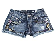 Miss Me Juniors' Fancy Embroidered Fr…