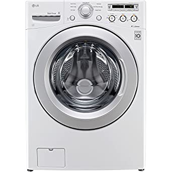 LG WM3050CW 4.0 Cu. Ft. White Stackable Front Load Washer - Energy Star