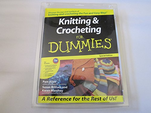 Knitting For Dummies Book : Knitting crocheting for dummies