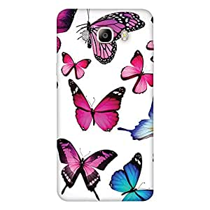 FASHEEN Premium Designer Soft Case Back Cover for Samsung Galaxy On 8