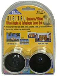 Digital Concepts 37mm TeleandWide Camcorder Lens Kit (KIT1337)