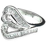 Swank Silver Unisex Finger Ring