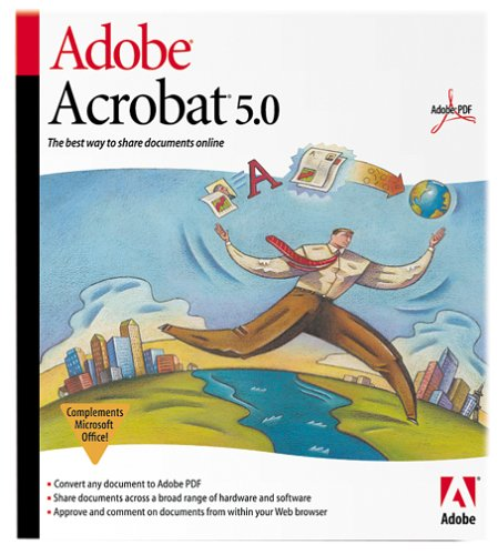 Adobe Acrobat 5.0 Upgrade