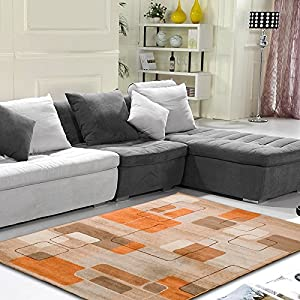Ustide Modern Geometric 5x8 Carpet For Living