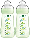 MAM Baby Products 99957420 Biberón 270 ml Neutro doble, verde